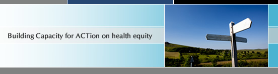 Building Capacity for ACTion on Health Equity